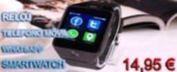 BANNER Reloj Telefono SmartWatch Inteligente Con Bluetooth WhatsApp Facebook Cámara Android iOS
